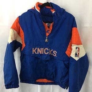 Men's Vintage knicks starter jacket S
